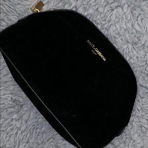 Dolce & Gabbana Black Make Up Bag